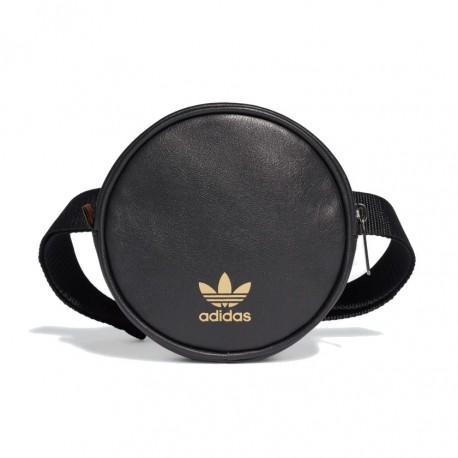 Adidas Originals Round Waist Bag Kerek Övtáska (Fekete-Arany) FL9628