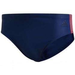 Adidas FIT 3 Stripes Trunk Férfi Úszó Trunk (Kék-Piros) FJ4717