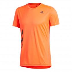 Adidas Run It PB Tee Férfi Futó Póló (Narancs-Fekete) FR8378
