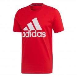 Adidas MH Badge Of Sport Tee Férfi Póló (Piros-Fehér) FL3943