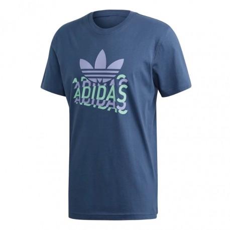 Adidas Originals Multi Fade Tee Férfi Póló (Kék) FM3339