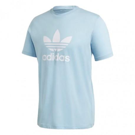 Adidas Originals Trefoil Tee Férfi Póló (Világoskék-Fehér) FM3794