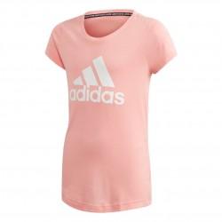 Adidas MH Badge Of Sport Tee Lány Gyerek Póló (Rózsaszín-Fehér) FM6512