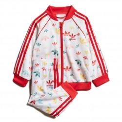 Adidas Originals SST Set Kislány Bébi Együttes (Fehér-Piros) FM6724