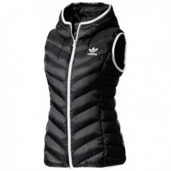 Adidas Originals Slim Vest Női Mellény (Fekete-Fehér) BS5044
