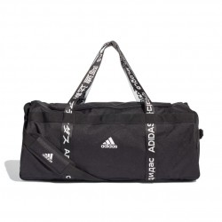 Adidas 4ATHLTS Duffel Bag Large Sporttáska (Fekete-Fehér) FI7963