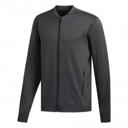 Adidas Primeknit 3 Stripes Jacket Férfi Felső (Fekete) FL4326