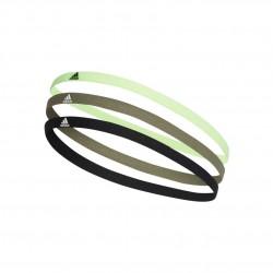 Adidas 3PP Hairband 3 Darabos Fejpánt (Zöld-Fekete) FM0215