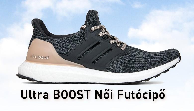 Adidas Ultra BOOST Női Futó Cipő (Szürke-Barack) BB6151
