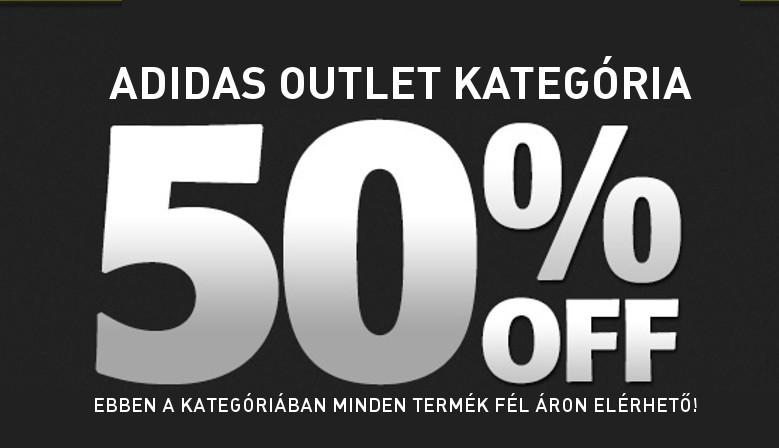 Adidas Outlet -50% Itt Minden termék fél áron kapható!