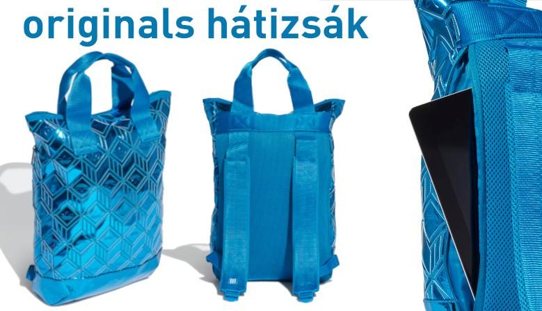 Adidas Originals Backpack Füles Hátizsák (Metálkék) H32378