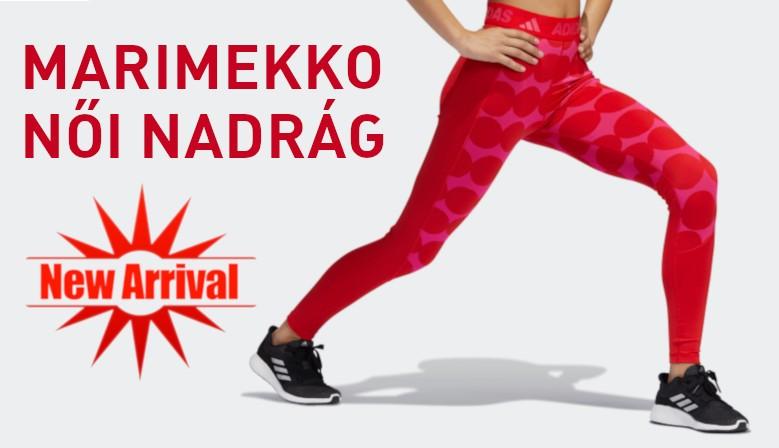 Adidas Marimekko Techfit Női Nadrág (Piros) GR8029