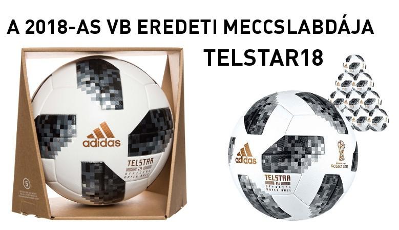 A 2018-as VB eredeti labdája Telstar 18