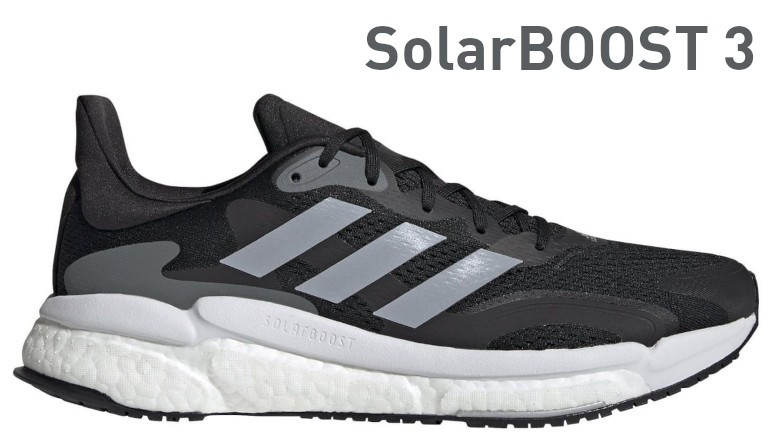 Adidas SolarBoost 3 Férfi Cipő (Szürke-Fehér) FW9137